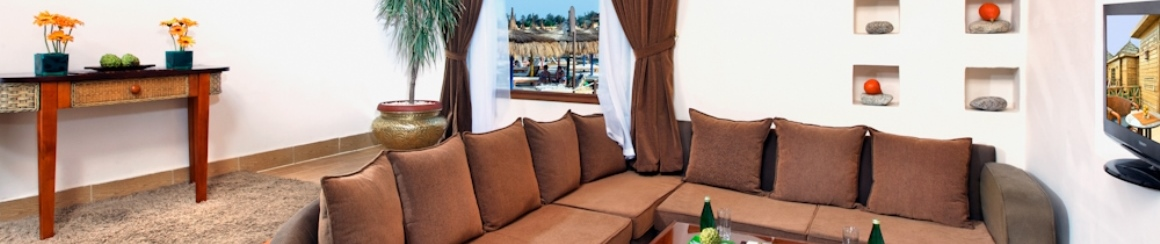 Bungalows at Aqua Blu Sharm
